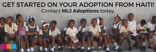 Get started on your adoption from Haiti! Contact MLJ Adoptions today.