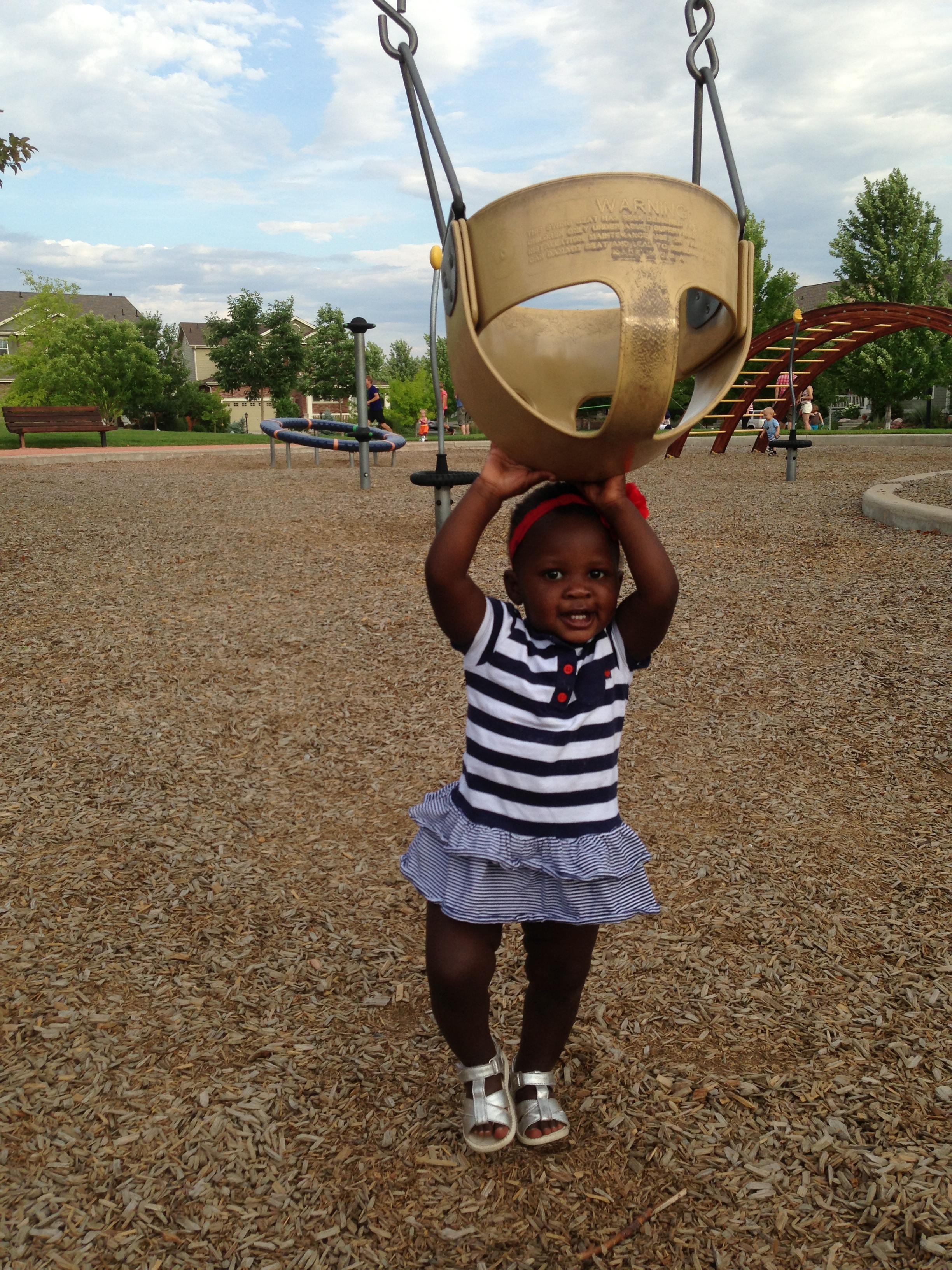 Girl - Summer - Playground