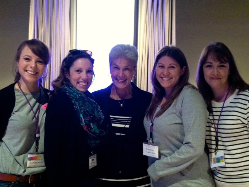 MLJ staff with Karyn Purvis at TBRI training