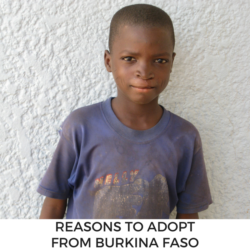 MLJ Adoptions shares reasons to adopt from Burkina Faso; learn more!