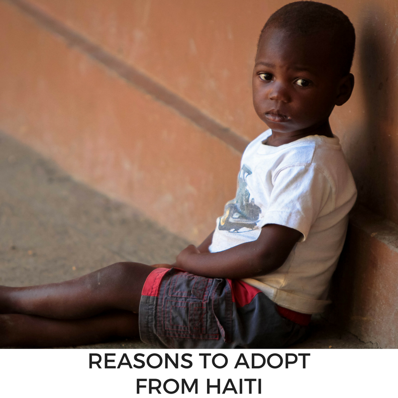 Reasons to Adopt from Haiti