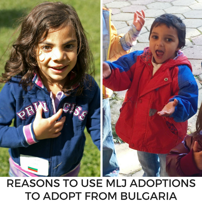 Reasons to use MLJ to adopt from bulgaria
