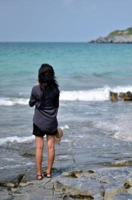 Self care beach