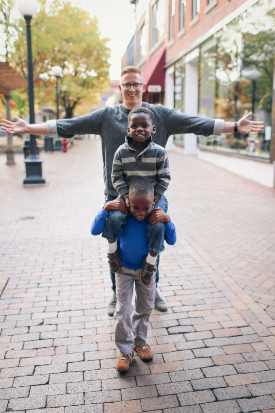 boys - dad - love
