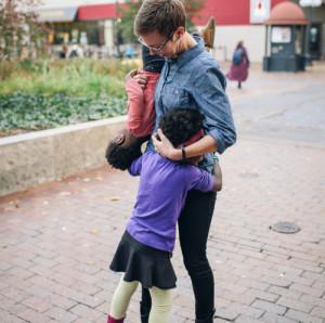 girls - mom - love