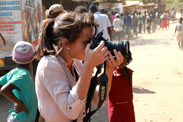 journalist in Africa